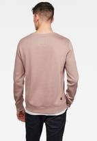 G-Star RAW - Premium core sweater - dusty pink
