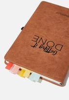 Typo - Page tab stickers - rainbow