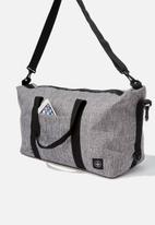 LOST - Transit duffle bag - grey crosshatch