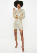 Blake - Sequin mini dress - gold