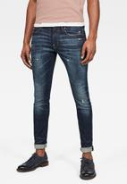 G-Star RAW - Revend skinny jeans - dark blue