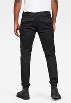 G-Star RAW - Front pocket slim fit cargo pants - black