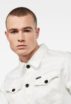 G-Star RAW - Arc 3D slim fit jacket - off white