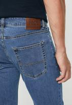 POLO - Simon straight leg jean - blue
