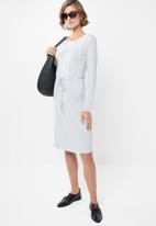 edit - Drawcord dress - grey