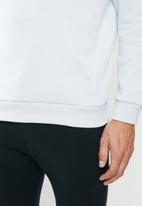 Under Armour - Rival sportstyle logo hoodie - grey