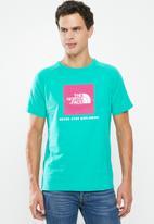 The North Face - Redbox raglan short sleeve tee - green