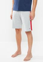 Tommy Hilfiger - Jersey panel short - grey & red
