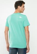 The North Face - Never stop exploring tee - green