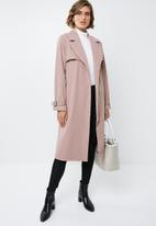 edit - Classic trench - pink
