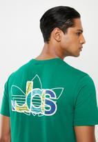 adidas Originals - Adi trefoil short sleeve tee - green