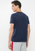 Tommy Hilfiger - Essential short sleeve tee logo - navy