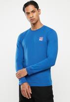 Diesel  - Umlt-willy sweat-shirt - blue