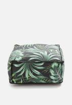 Sixth Floor - Monteverde floor cushion - green & black