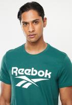 Reebok Classic - Classic vector short sleeve tee - green