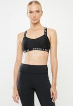 Under Armour - Wordmark strappy sportlette - black