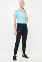 Under Armour - Graphic sport style classic crew - blue