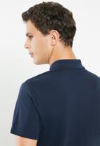 adidas Performance - Adi short sleeve polo - navy