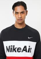 Nike - Nike sportswear crew fleece sweater - multi