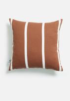 Sixth Floor - Vert cushion cover - rust