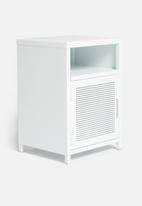 Basics - Isaiah bedside table - white