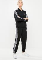 adidas Originals - Adicolour lock up track top - black & white