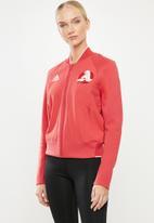 adidas Performance - VRCT jacket - red