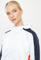 adidas Performance - W.n.d hoodie - white & navy