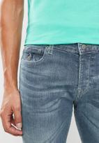 POLO - Reggie tapered leg denim - blue