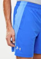 Under Armour - Launch 7-inch sw shorts - blue
