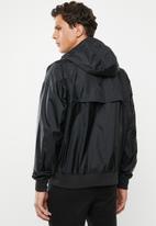 Nike - Nike sportswear wind resistant hooded jacket - black