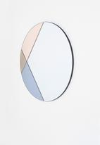 Sixth Floor - Colour block mirror