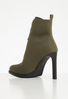 G-Star RAW - Strett heel boot - green