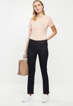 POLO - Briana short sleeve stretch tee - blush