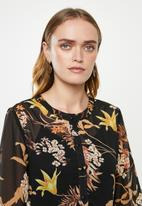 Jacqueline de Yong - Emillia short sleeve shirt dress - multi