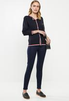 POLO - Emily twin set cardigan - navy