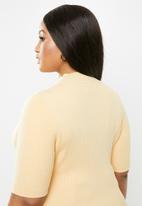Glamorous - Plus high neck knit - neutral