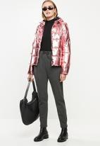 ONLY - Ella metallic jacket - pink