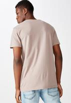 Cotton On - Essential vee neck  - dusk