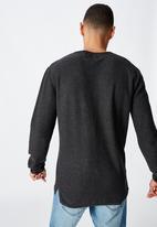 Cotton On - Fine gauge knit - charcoal