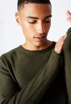 Cotton On - Fine gauge knit - khaki