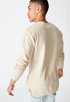 Cotton On - Fine gauge knit - cream
