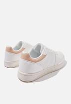 Cotton On - Alba retro low rise - white canyon rose