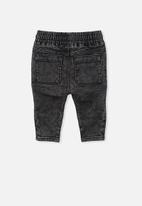 Cotton On - Carter moto jean - black