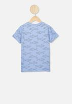 Cotton On - Max short sleeve tee - blue