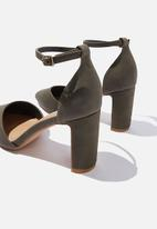 Cotton On - Jeanne closed toe heel - khaki