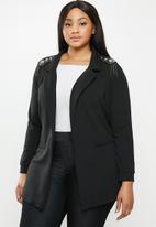 JUNAROSE - Agina blazer - black