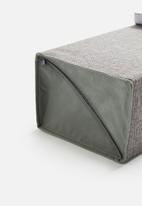 Sixth Floor - Mesh cover shoe box - grey
