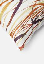 Grey Gardens - Reeds cushion cover - orange