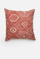 Grey Gardens - Dots cushion cover - red